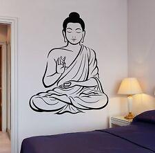 Wall Decal Buddha Buddhism Om Relaxation Zen Meditation Decor (z2667)