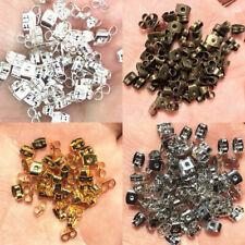10 Ohrstecker mit Andrückplatte in 12 mm Durchmesser und vergoldetem Halter