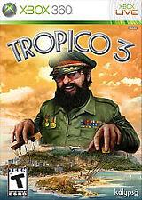 Tropico 3 (Microsoft Xbox 360, 2010) SKU 1801