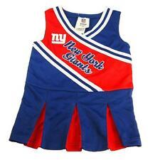 New NFL New York Giants Toddler Girls Cheerleader Dress Sizes 2T 3T 4T Football