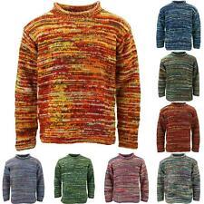 Chunky Wool Space Dye Knit Jumper LoudElephant Pullover Warm Loose Sweatshirt