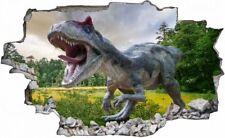 Dinosaurier Dino Wiese Bäume Wandtattoo Wandsticker Wandaufkleber C0566