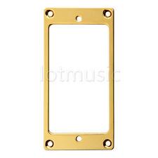 1 piece Flat Metal Humbucker Pickup Mounting Ring - Gold/Black/Chrome
