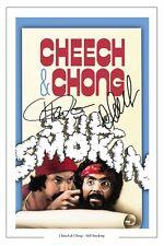 CHEECH AND CHONG STILL SMOKIN G SIGNED PHOTO PRINT AUTOGRAPH POSTER