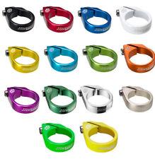 Reverse bolt sillín borna muchos colores 34,9mm sillín abrazadera seatclamp