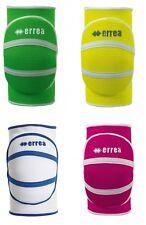 Errea Unisex Volleyball Kneepads Team Sports Green/White/Yellow/Pink T1393