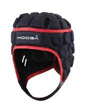 Kooga ELITE RUGBY Casque de protection noir/rouge Grand garçons, Taille S