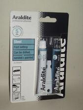 New Araldite Steel Metal Fast Setting Strong Adhesive Glue 2 x 15ml