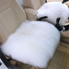 Genuine Sheepskin Long Wool Car Seat Cover Cushion Pad Warm Chair Cover SALE