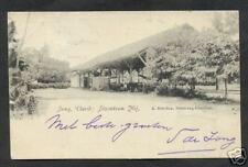 Semarang Cheribon Steam Tram Station Java ca 1899