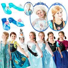 Disney Frozen kidsfancy Vestido Cuento De Hadas Princesa PELÍCULA CHICAS CHILDS Disfraces Nuevo