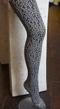 """Trasparenze """"Mumbai"""" Leopardo Con Motivi Collant Nere/Corda"""