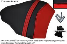 Rojo Y Negro Personalizado se adapta a Ducati 848 1098 1198 Cuero Trasero necesidades cubierta de asiento