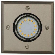 Luxform Bourke 12v LED Garden Deck Light - IP67 - Stainless Steel - Pathway