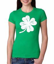 St.Patrick Day Shamrock Clover Green T-shirt Lucky T-shirt For Women
