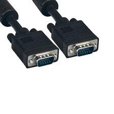 3-25Ft Super VGA SVGA HD15 15 Pin Video Cable Cord EMI 28 AWG TV PC MAC Monitor