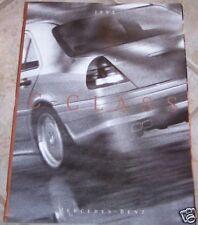 1995 mercedes c32 amg  c class owners sales brochure new original c280 c220