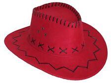 Niños sombrero de Vaquero velourlederoptik Talla Única en 9 DIFERENTES COLORES
