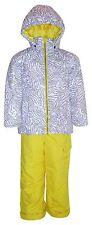 New Pulse Little Girls Toddler 2T 3T 4T Snowsuit 2 Pc Ski Jacket Snow Bibs $125