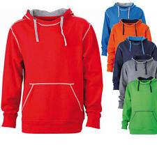 James & Nicholson Kapuzenpullover Hoodie Sweat Pullover Pulli Jacke S - 3XL