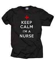 Gift For Nurse T-Shirt Keep Calm And Nurse ON T-Shirt NCLEX Tee Shirt