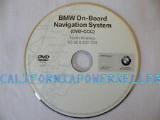 BMW Navigation DVD # 724 Map Edition © 2008.1 Fits: 2004 525i 530i 545i E60 E61