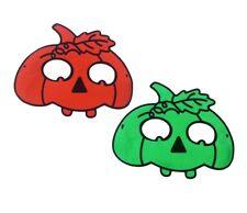 Pumpkin Eye Mask Masquerade Masked Ball Party Halloween Fancy Dress Masks