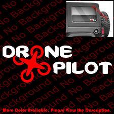 DRONE PILOT Vinyl Die Cut Decal/sticker DJI Phantom Quadcopter Parrot SP036