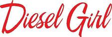 Diesel Girl vinyl decal/sticker  truck diesel country chic