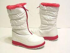 New Girls Ozark Trail Girls Fashion Winter Boots Shoes SZ 12 White/Pink