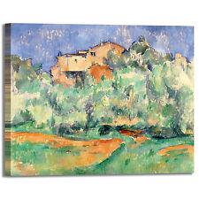 Cezanne fattoria bellevue design quadro stampa tela dipinto telaio arredo casa