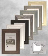 Bilderrahmen Holz 10x15 13x18 15x20 20x20 20x30 21x30 A4 30x30 auch Ersatzglas