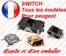 Switch bouton de clé télécommande plip peugeot telecommande interrupteur clé