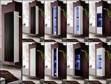 salon vitrine en verre affichage étagère MOUCHE Haute Brillance LED