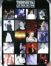TOHOSHINKI 5th LIVE TOUR 2012 TONE Taiwan Promo Poster (Dong Bang Shin Ki TVXQ)