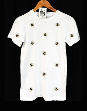 Bumble Bee Patrón Camiseta-Swag-Animal-Hipster - Ropa Unisex Pico