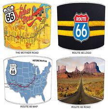 ROUTE 66 Paralumi Ideale Da Abbinare American Route 66 Adesivi Murali & Adesivi.