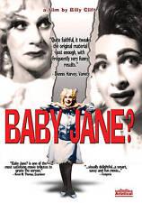 Baby Jane? (DVD, 2011)