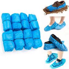30 X Desechable Alfombra Color Azul Cubiertas De Zapatos Zapatos de agua que cubre protectores