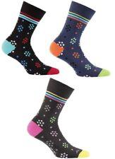 Wola Colourful Patterned Men's Long Socks