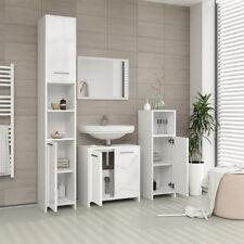 VICCO Badmöbel Set KIKO Weiß hochglanz - Spiegel Unterschrank Badschrank