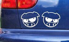 Manga Angry Pigs Subaru Custom Car Die Cut Vinyl Window Bumper Sticker Decal JDM