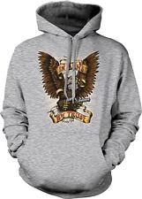 In Arms We Trust Bald Eagle Guns Pistols Shoot Firearms Bear Hoodie Sweatshirt