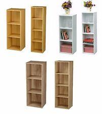 En bois de chevet bibliothèque étagère affichage stockage bois étagère étagères cube armoire