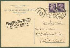 Regno.Cartolina postale del 11.9.1940