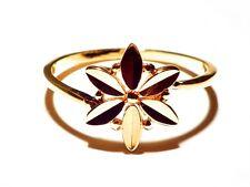 Damen Ring Polly, Metall-Legierung, Gold plattiert