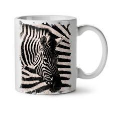 Safari Zebra Head NEW White Tea Coffee Mug 11 oz | Wellcoda
