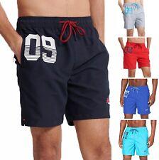 Superdry Grey Orange Label Jogger Shorts M701101AT PW8