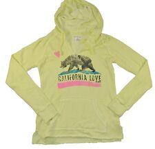 Billabong FOLLOW LOVE PULLOVER Yellow Sun Dry Hooded Junior's Sweatshirt