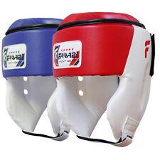 Farabi Kids BOXING HEAD GUARD KICK BOXING Testa Protezione Casco Aperto